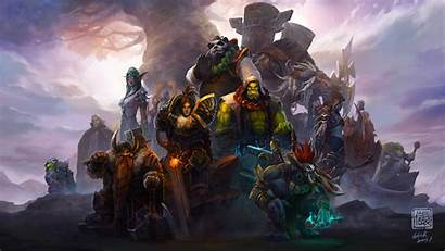 Warcraft 4k Characters Wallpapers