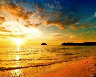 Beach Sunset Sea 1280 Wallpapers 1024 1080