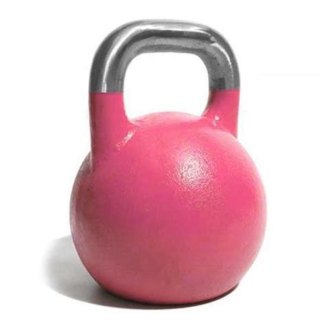 pink competition 8kg kettlebell kettlebells fitness