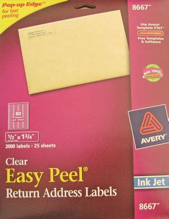 Avery Clear Inkjet Return Address Labels 25 Sheets 12 X 1. Bear Hunting Decals. Iron Man Logo. Rectangular Banners. Online Coupons. Lung Abscess Signs. Romantic Murals. Inappropriate Signs. Graduation Murals