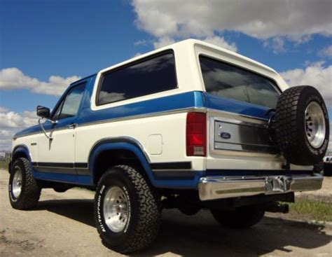 find  original  ford bronco xlt   caldwell