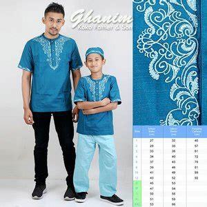 Baju Muslim Koko Pria Ayah Anak jual baju koko anak koko ayah anak koko gk 0001 di