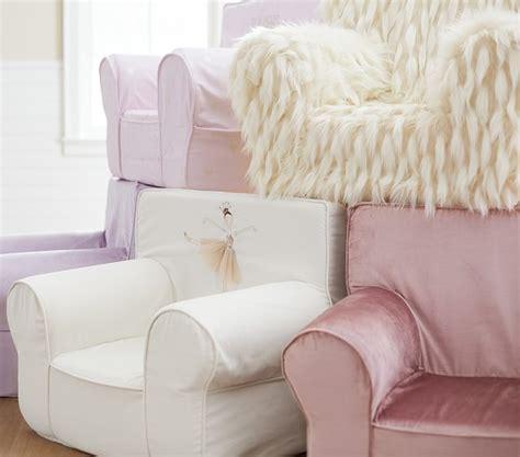 shimmer velvet lavender anywhere chair pottery barn
