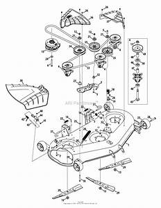 Troy Bilt Super Bronco 50 Belt Diagram