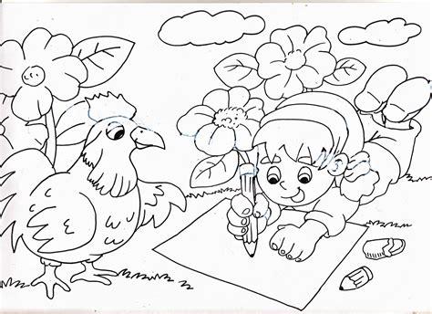 61+ sketsa gambar mewarnai bunga. Catatan Bunda: Mewarnai Gambar