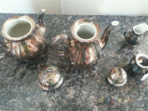 coffee tea service sets wmf german 1890s tea coffee silver on porcelain suger