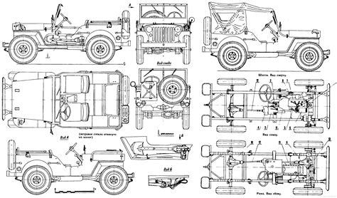 ww2 jeep drawing willys mb jeep blueprint download free blueprint for 3d