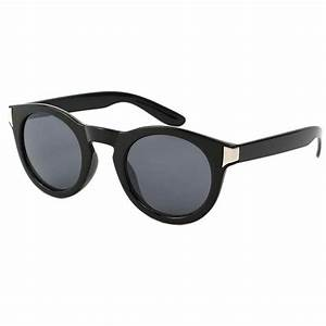 Lunette Soleil Ronde Homme : achat lunette de soleil ronde noire really style pur ~ Nature-et-papiers.com Idées de Décoration