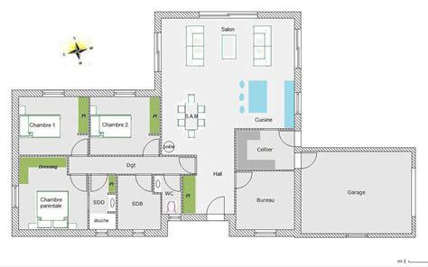 modele maison plain pied 5 chambres immobilier pour tous