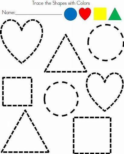 Shapes Preschool Worksheets Worksheet Activities Learning Kindergarten