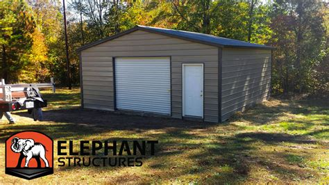 Building A Metal Carport by Metal Garages Make Easier Elephant Structures