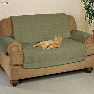 Microplush pet furniture covers with longer back flap for Sectional sofa pet protector
