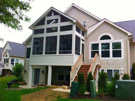 Gable Roof : Columbus Decks, Porches And