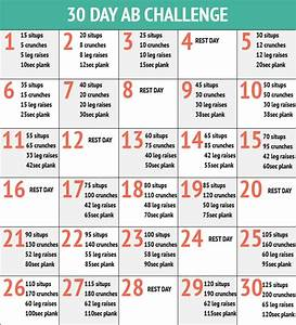 "Search Results for ""30 Day Ab Challenge Calendar"