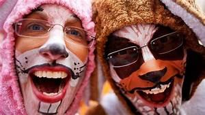 Karneval Schminken Tiere : als hase schminken anleitung sat 1 ratgeber ~ Frokenaadalensverden.com Haus und Dekorationen