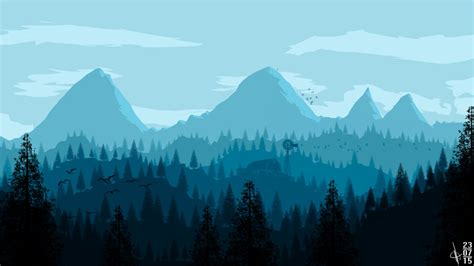 Low Poly Wallpaper 1920x1080 Mountain Blue Wallpaper 1920x1080 By Moejd On Deviantart