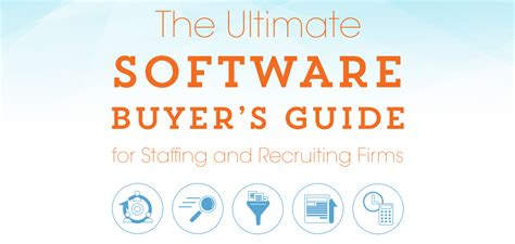Ultimate Software Buyer's Guide For Staffing And Recruiting