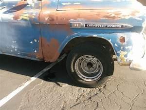 Rare 1959 Chevrolet Apache 3100 305 307 V8 Swb Panel