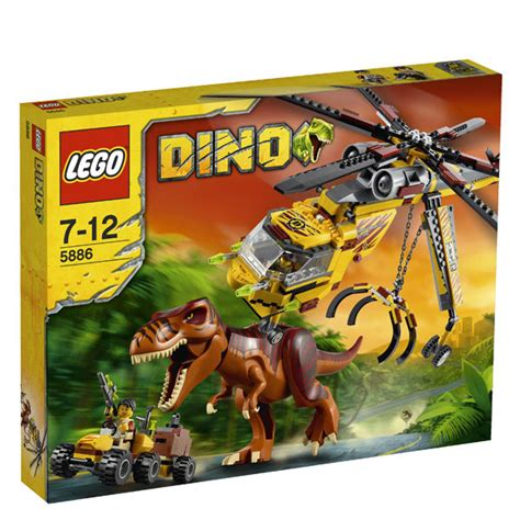lego dino  rex hunter  toys zavvi