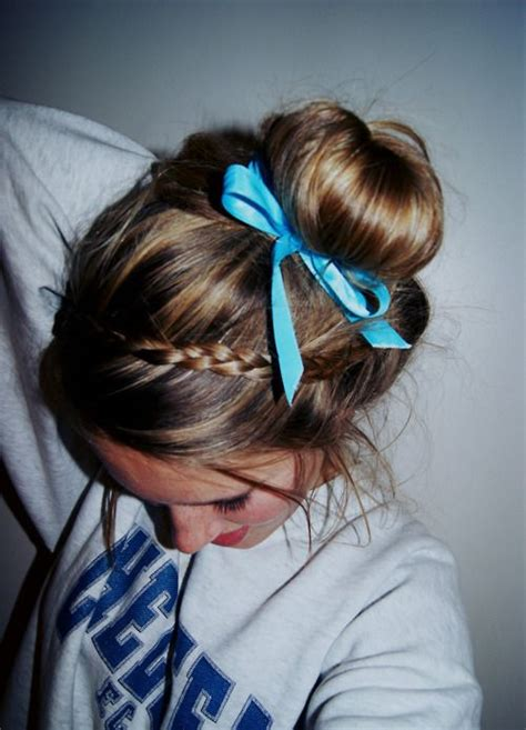 would be perfect hair for cheer gonna try this beauty