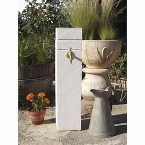 Fontaine A Eau Exterieur : fontaine en pierre reconstitu e ton pierre borne leroy ~ Dailycaller-alerts.com Idées de Décoration