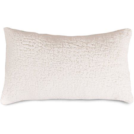 majestic home goods sherpa indoor small decorative throw pillow walmartcom