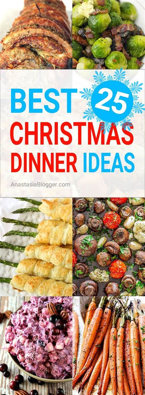 Forget traditional mashed potatoes and overdone pork roast. Best 25+ Christmas Dinner Ideas - Traditional / Italian ...