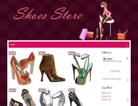 shoes  shop blogger template lowongan kerja daerah