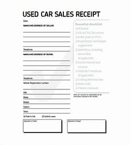 Car invoice templates 20 free word excel pdf format for Used car invoice template
