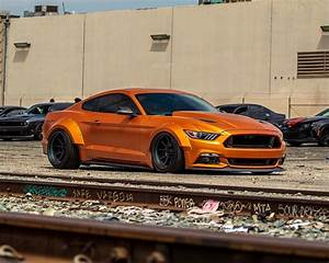 """Ford Mustang """"Orange Coyote"""" Is a Hungry Hunter - autoevolution"""