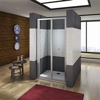 Shower Door Bifold Cubicle Enclosure Walk Sliding
