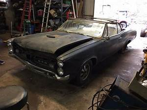 1967 Gto Convertible Restoration Project 4 Speed Barn Find