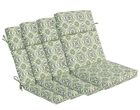 bossima indoor outdoor green grey damask high back chair