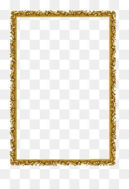 tatakan  gratis persegi panjang emas golden deco