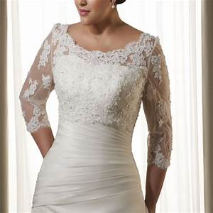 3 4 sleeves alencon lace jacket vest applique beading With jacket dresses for weddings