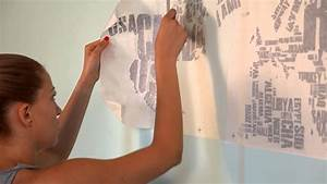 Map Wall Decal - Installation Instructions