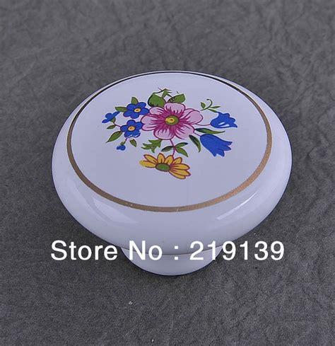 porcelain knobs for kitchen cabinets blue single ceramic furniture kitchen cabinet 7542