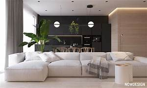 Minimalist Interior Design : minimalist interior design with green plant accents ~ Markanthonyermac.com Haus und Dekorationen