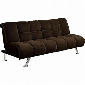 Furniture of america maybelle futon convertible sofa bed for Sectional sofa bed walmart