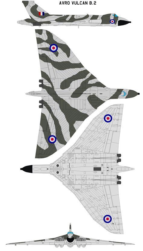 Avro Vulcan B.2 by bagera3005 on DeviantArt