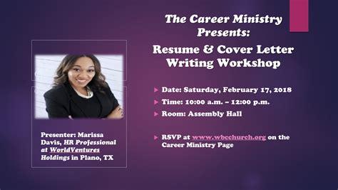 14344 resume and cover letter workshop resume cover letter workshop registration westside
