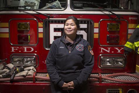 meet  yorks  female asian american firefighter