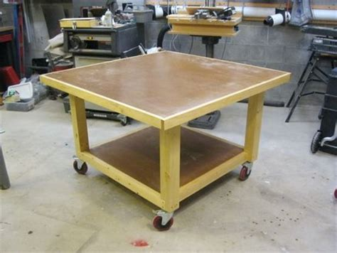 Assembly Table  By Lockwatcher @ Lumberjocksm. Butcher Block Work Table. Desk Chair Cheap. 60 Desk. French Provincial Desk. Inexpensive Coffee Tables. Blum Drawer. Mini Side Table. 2 Drawer Night Stand