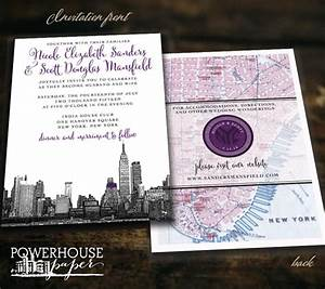 new york city skyline and map wedding invitation 2533845 With wedding invitations with new york skyline