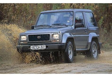 Daihatsu Rocky by Daihatsu Rocky Technical Specifications And Fuel Economy