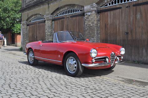 Alfa Romeo 1600 by 1965 Alfa Romeo Giulia 1600 Spider Coys Of Kensington