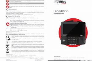 Ingenico L8000cl Contactless Rfid Payment Terminal User Manual
