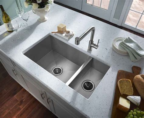 deep undermount kitchen sinks sinks inspiring deep stainless steel sink deep bowl sink