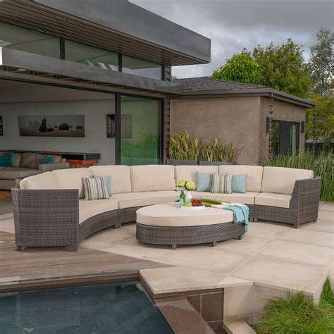 kingston 5pc circular seating collection mission