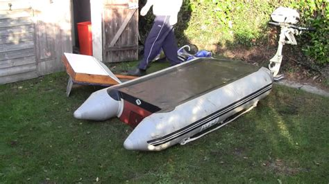 Dinghy Boat Mount by How To Mount A Big Outboard To A Small Dinghy Part 1